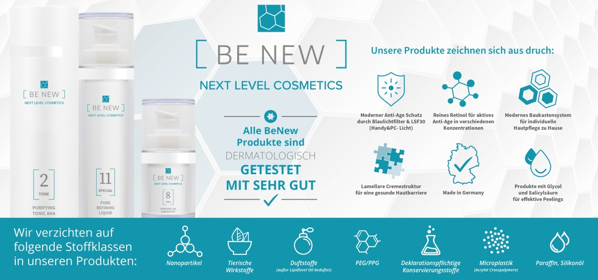 Be new bei Kosmetik am See